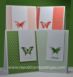 Stampin' Up! Six-Sided Sampler with Elegant Butterfly Card Set made by Hand Stamped Style, THANKS for checking out my PIN and for more info head to my blog and FACEBOOK PAGE http://www.facebook.com/handstampedstyle