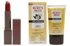 NEW Burt's Bees Lipsticks and BB Cream   Nouveau Cheap
