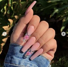 How to choose your fake nails? - My Nails Summer Acrylic Nails, Best Acrylic Nails, Coffin Acrylic Nails Long, Acrylic Nail Designs Coffin, Acrylic Toes, Summer Nails, Aycrlic Nails, Hair And Nails, Coffin Nails