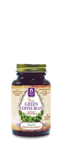 Genesis Today's Green Coffee Bean extract is a unique supplement for natural and healthy weight management. Our product is formulated using only pure, high quality, raw, unroasted green coffee bean extract that has been standardized to contain a minimum of 45% chlorogenic acids, which include a naturally-occurring blend of the 3, 4, and 5-caffeoylquinic acids.