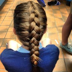 Dutch braide!!