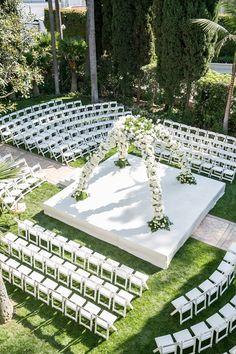 Erica and Jason, Beverly Hills Hotel Wedding Reception Layout, Wedding Ceremony, Wedding Venues, Wedding Dress, Ceremony Seating, Wedding Seating, Chek List Casamento, Wedding Goals, Wedding Planning