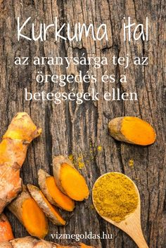 Természet patikája - Kurkuma ital – az aranysárga tej az öregedés és a betegségek ellen Diet Recipes, Cooking Recipes, Healthy Recipes, Herbal Remedies, Natural Remedies, Health And Wellness, Health Fitness, Chia Seeds, Healthy Drinks