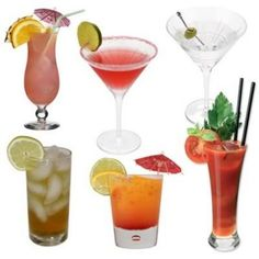 A selection of cocktails for beginners - easy cocktail recipes that anyone can master, using ingredients that are easy to find.