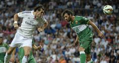 Cristiano Ronaldo scored four goals as Real Madrid recorded their second successive league victory with a comfortable win at home to Elche with a score of 5-1.