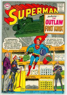 DC - Superman (1965) #179 Comic Cover hi-res