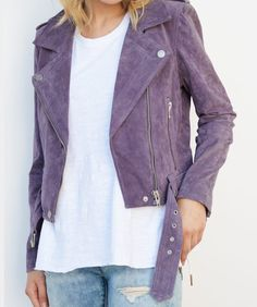 ❤ purple! This amazing BlankNYC jacket is on sale for 40% off. See the Style Deal by clicking!
