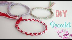 ♡ Sema Art ♡ DIY Friendship Bracelets / How to make friendship band at home Buna dragilor! Incep tutorialul prin a va arata cum puteti confectiona singuri. Cute Diys, Friendship Bracelets, Macrame, Origami, Diy And Crafts, Christmas Crafts, Make It Yourself, Band, Artwork