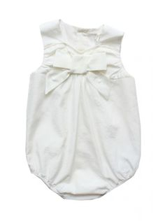 Chloe Kids baby girls ivory white bloomer set