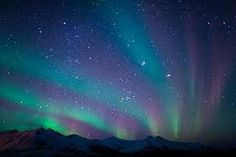 Aurora lights, Alaska