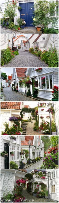 "Stavanger Norway ""Norway Beautiful side yards! The more I see of Norway, the more I love it!"" taken from Pinterest #Regionstavanger"