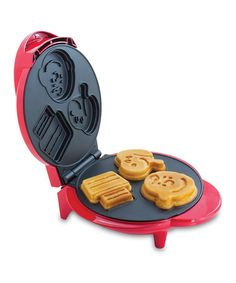Another great find on #zulily! Snoopy™ & Charlie Brown™ Triple-Shape Waffle Maker #zulilyfinds. $19.99. How FUN!