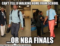 Funny NBA Fashion