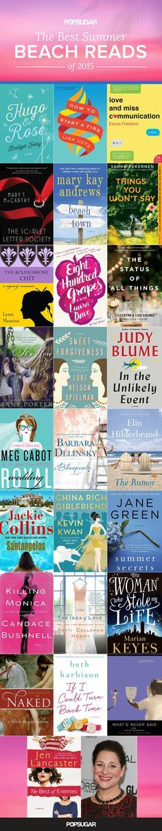 Love stories make the best Summer reads, and we've got 26 romantic beach reads you won't be able to put down. Contemporary romance writer Brenda Janowitz, author of the Brooke Miller series, is sharing her picks for the best new Summer books of 2015.