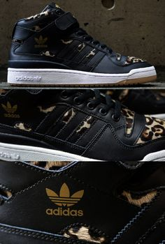 adidas Originals Forum Mid Leopard sneaker