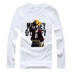 One Piece Shirts - Long Sleeve (9 Design Styles)