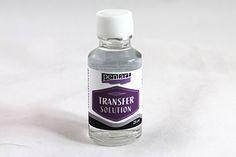 Pentart dekor: Így használd a transzfer oldatot!