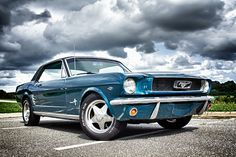 66 Mustang Coupe by Richard Scherzinger on 500px