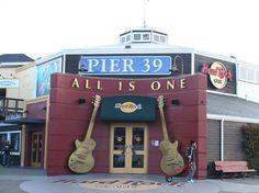 Hard Rock Cafe at Pier 39, San Francisco