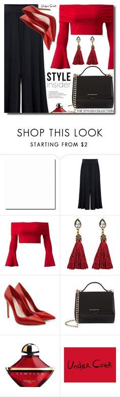 """""""Date style"""" by soks ❤ liked on Polyvore featuring Alexander McQueen, Givenchy, Guerlain and polyvoreeditorial"""