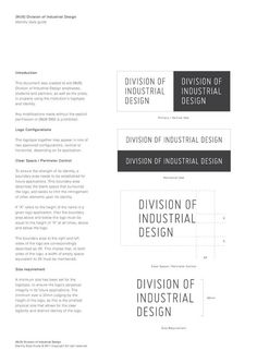 Division of Industrial Design by SILNT , via Behance