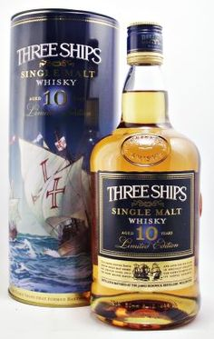 Three Ships Single Malt South African Whisky 43% 75cl