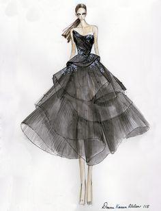 dknyprgirl:  Design inspiration for Greta Gerwig's Golden Globes gown