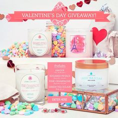 Enter to win one the items from the Valentine's Day gift guide!
