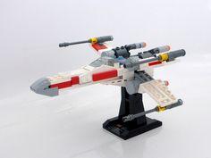 Lego X-Wing mini-scale