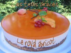 C'est la pleine période des abricots, alors profitons en ! Ce dessert est un vrai régal.Tous ceux qui l'ont goûté ont adoré. Le mariage de la mousse à l'abricot avec le croustillant praliné est divin... Recette pour 16 personnes : pour le succés aux amandes...