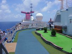 Top Deck - Carnival Cruise Ship  If you like this Like our page : https://www.facebook.com/patelcruise