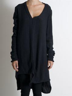 Asymmertic Long sweater Dress by Serien°Umerica