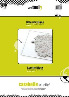 Bloc Acrylique - XXL (A4) en vente sur notre boutique en ligne spécialisée dans le scrapbooking et les fournitures de loisirs créatifs. Tout notre matériel est disponible en ligne.