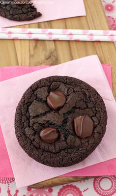 Double Chocolate  Cookies/ Cinnamon Spice and Everything Nice