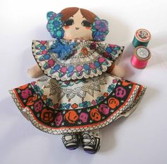 Vintage Clothkits doll