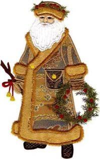 Free Santa Applique Patterns Old World Santa Patterns