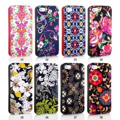 Fashion Amazing Flower Series Hard Back Case Cover for iPhone 4/4S/5 -- www.gogoonlineshop.com