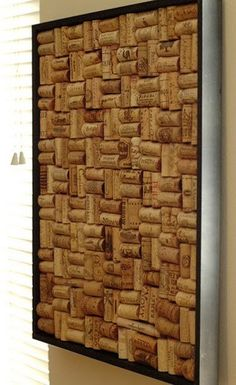 "cork board, get it? ""cork"" board"