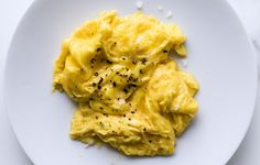 These scrambled eggs