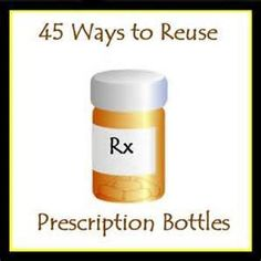 45 uses for prescription bottles - AT&T Yahoo Image Search Results