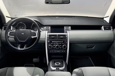 Land Rover Discovery Sport SE Sport 2015 - 2015 Land Rover Discovery interior   PICSCAR