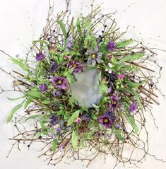 Hey, I found this really awesome Etsy listing at https://www.etsy.com/listing/259651227/spring-wreath-summer-wreath-purple