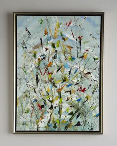 "John-Richard Collection, ""The Confetti Garden"" Original Oil Painting"