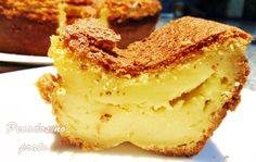 Receitas de pecados no prato: Bolo pastel de nata
