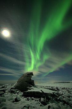Presenciar este fenómeno extraordinário da natureza - a Aurora Boreal #auroraborealis