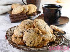 Ciastka z czekoladą - Przepis na #polkipl #sweets #slodycze #recipes