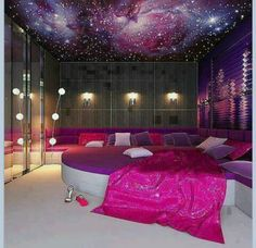 sleepover room...I NEED ONE OF THESE!!!