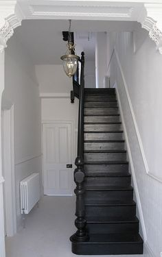 Can't get enough of vintage black stairs