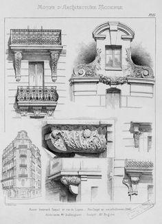 Motifs d'architecture moderne   Noe, L.