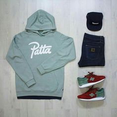 Those NB are hard and they go perfectly with that Patta hoodie.